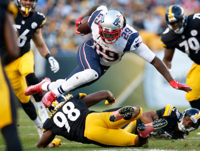 LeGarrette Blount, Vince Williams